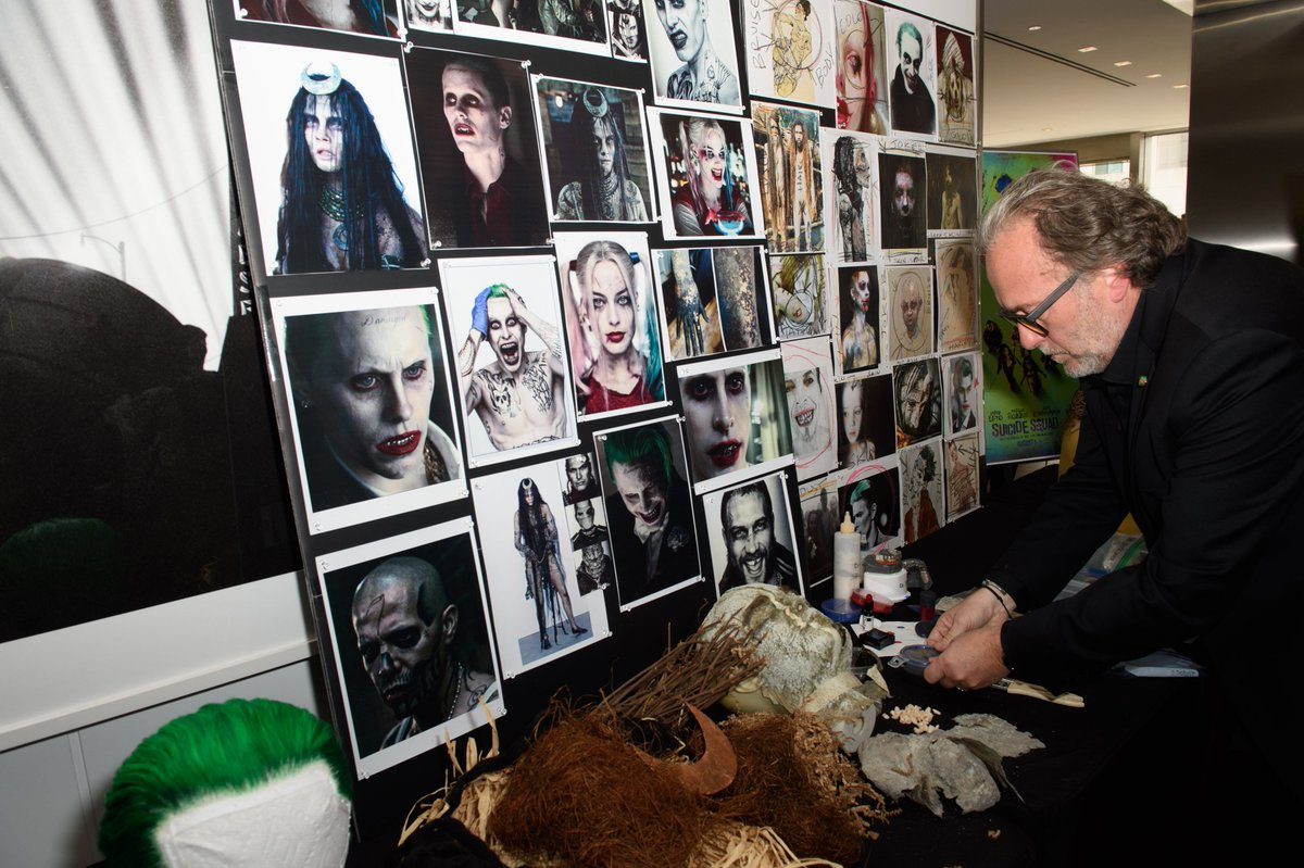 Alessandro Bertolazzi shared the inspiration behind his work on @SuicideSquadWB weeks before winning the Makeup and Hairstyling Oscar alongside Giorgio Gregorini and Christopher Nelson.