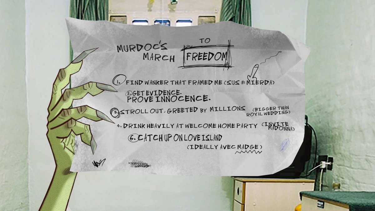 2 HOURS LEFT to join Murdoc's March To Freedom...
