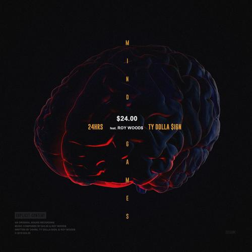🧠 @tydollasign and @2fourhrs tap @RoyWoods for new 24 Dollas song Mind Games trib.al/Knd7RvL