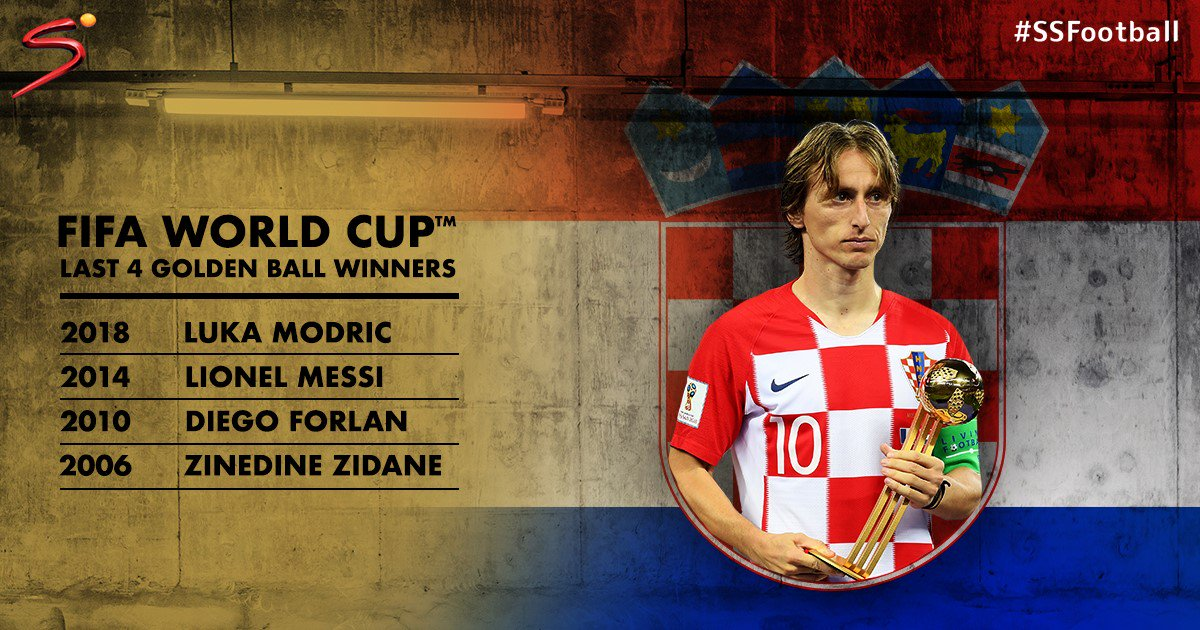 The last four Golden Ball winners of the FIFA #WorldCup have all been #LaLiga players. After losing the final in Russia, can Luka Modric lead Real Madrid to league success next season?