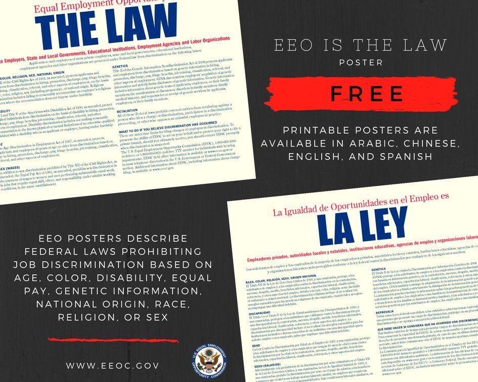 the eeoc A company with more than 14 employees are subject to the eeoc stepping in 8 min read.