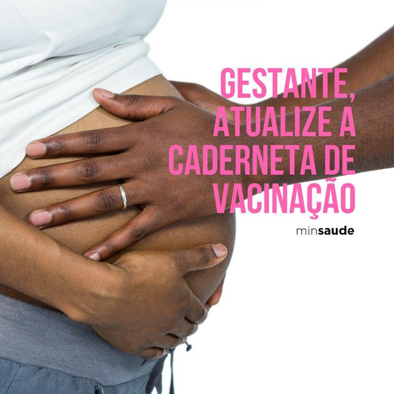 Mantendo-se imunizada, é possível prevenir problemas graves com a saúde da gestante e do bebê. Durante a gravidez, os anticorpos (agentes de defesa) da mãe são transferidos para a criança através da placenta e, após o nascimento, pelo leite materno. Leia: https://t.co/gTuwyZtf0I