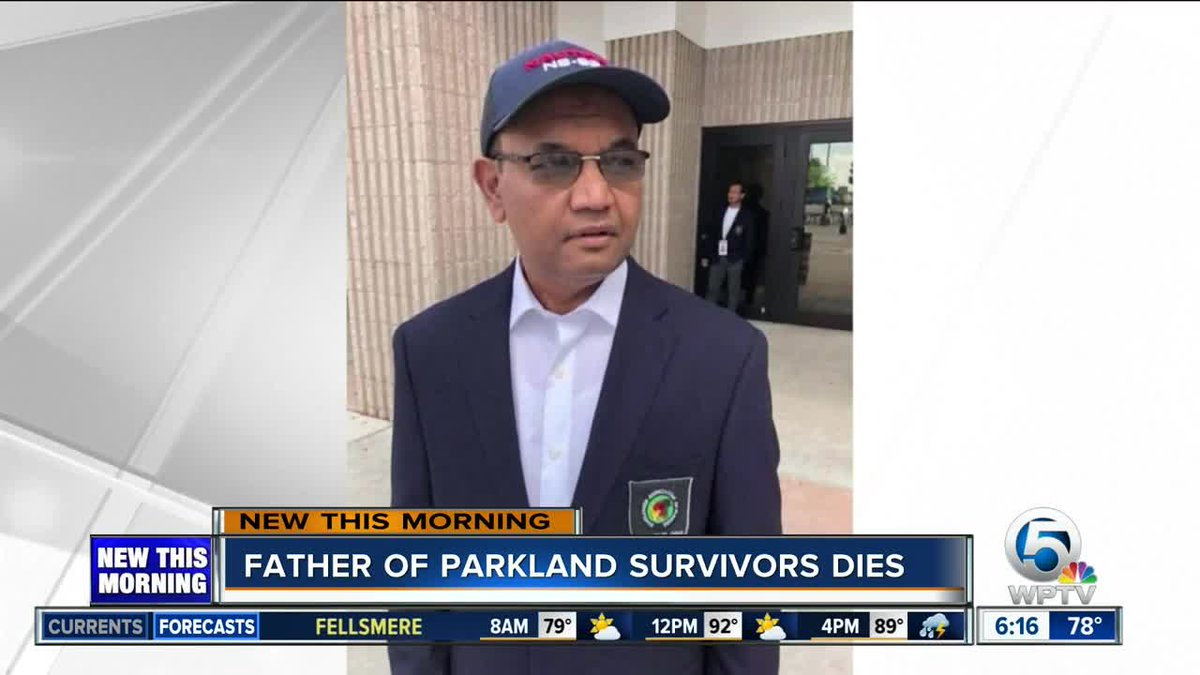 Father of Parkland survivors shot to death in robbery https://t.co/P6F6721Piw