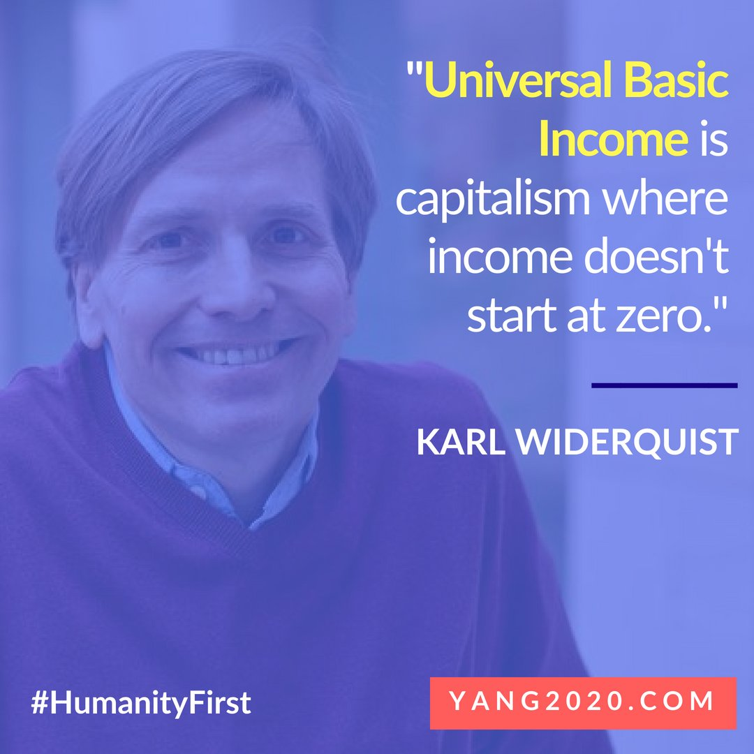 Karl Widerquist quoted by Andrew Yang