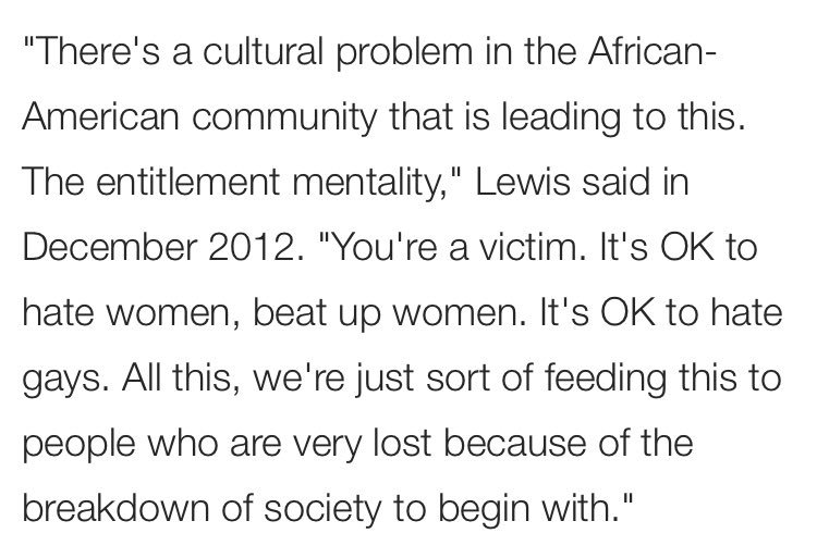 """In 2012 @KFILE,  found, Republican congressman Jason Lewis said that black people have a """"cultural problem"""" that tells them it's OK to commit violence against women and hate gay people."""