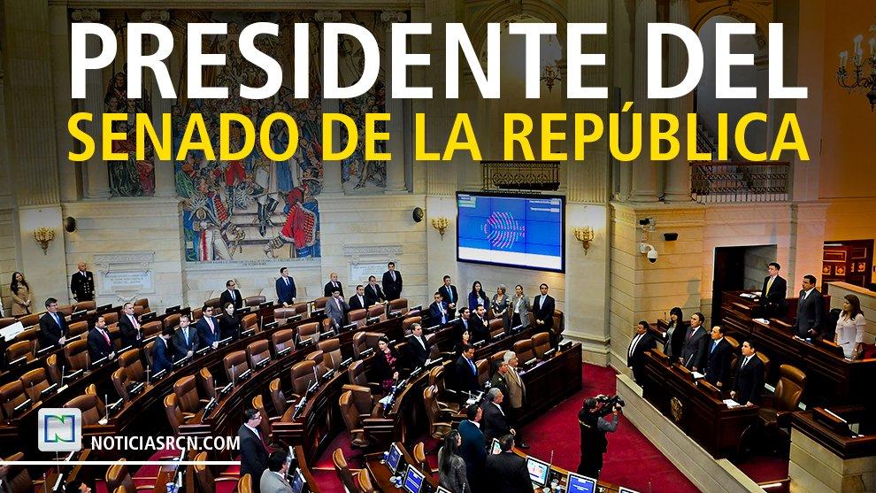 #Atención | El senador del @CeDemocratico, Ernesto Macías (@ernestomaciast), sería elegido como nuevo presidente del @SenadoGovCo https://t.co/BXPS3y0hKi