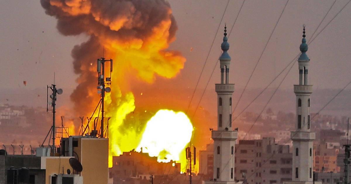 Israël bombarde massivement Gaza, l'ONU appelle à éviter la guerre https://t.co/P8i60GQMeQ