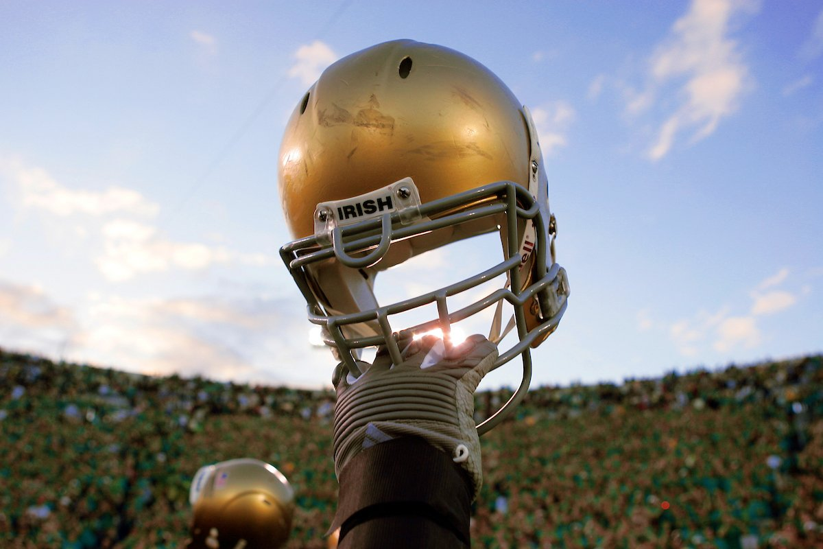 🏈🏈🏈🏈🏈🏈 🏈🏈🏈🏈🏈 🏈🏈🏈🏈 🏈🏈🏈 🏈🏈 🏈 👇 @NDFootball 🏈☘️ is just SIX Saturdays away. #GoIrish