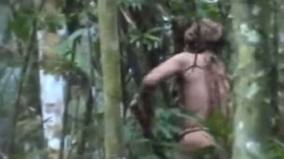 Rare video shows last surviving member of Amazonian tribe: https://t.co/9zqnkgRnUq