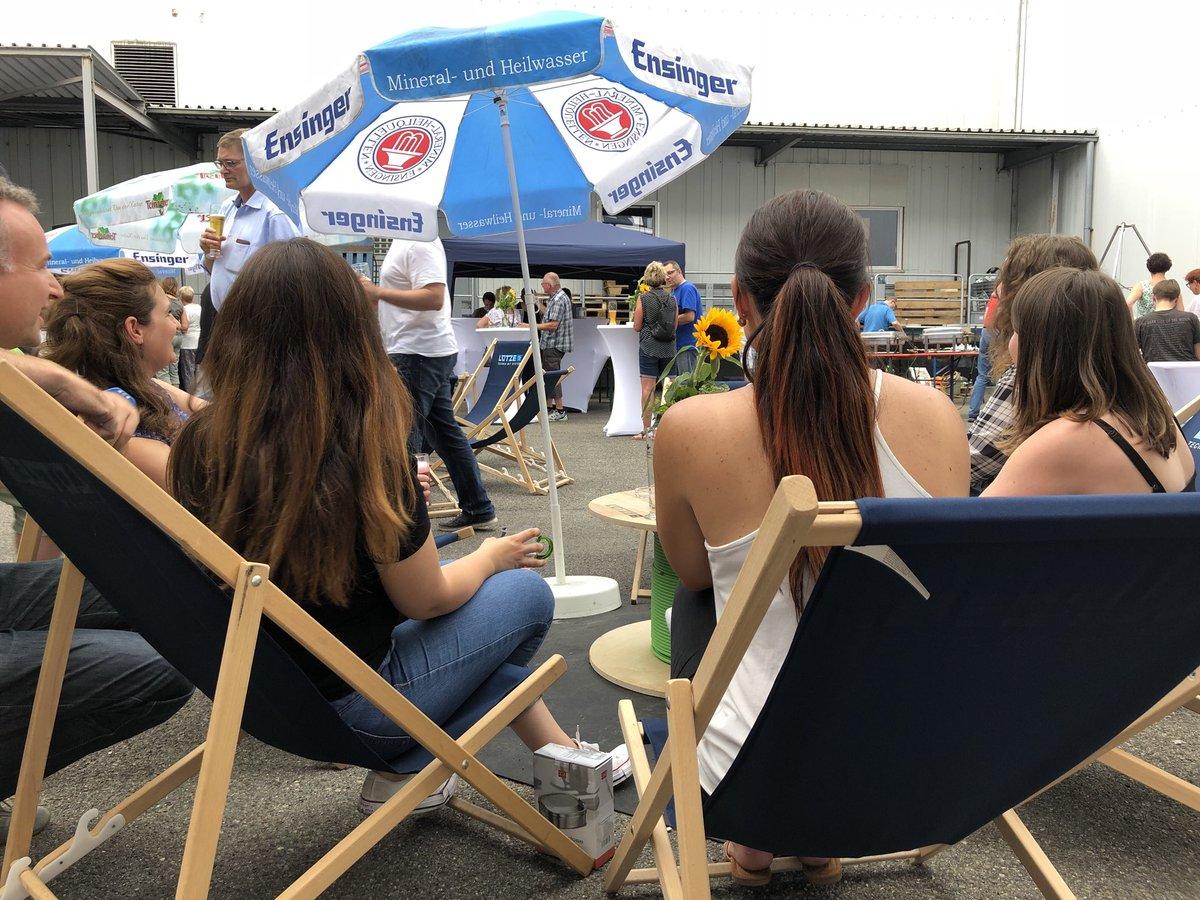 🍾🍺🍷🕺💃 Entspannte #Clubatmosphäre beim heutigen Sommerfest bei LÜTZE in...