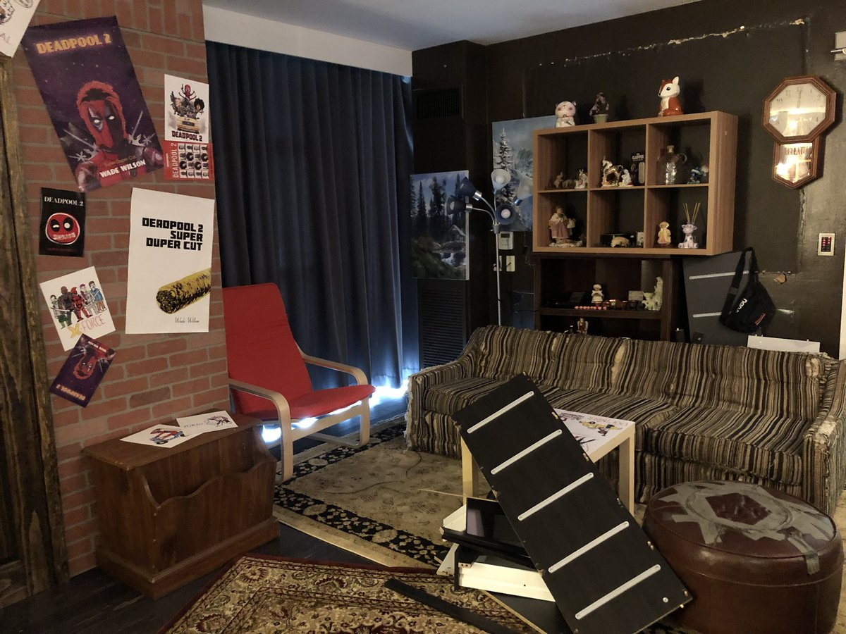 Shanna Mendiola On Twitter The Deadpooldreamsuite Deadpool And Blind Al S Apartment Brought To Life At Sdcc Hard Rock Hotel Sdcc18 Deadpool2