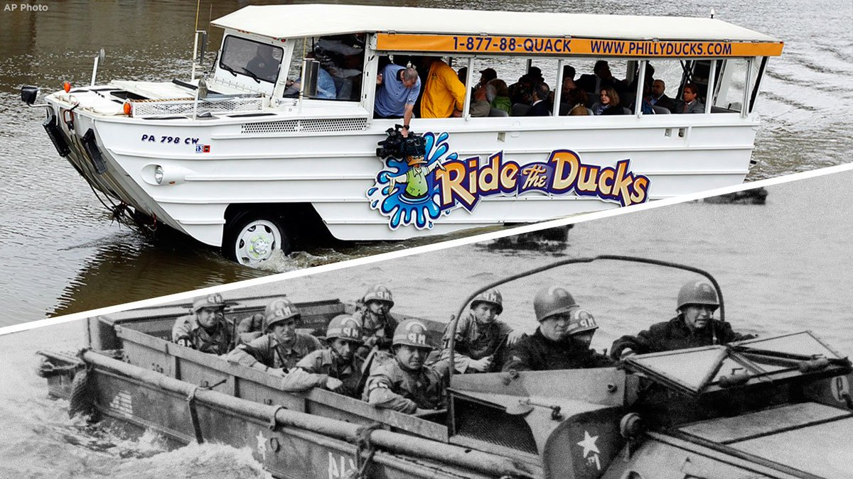 What is a duck boat? A look at the popular tour boats used around the country https://t.co/a5PZcO4KKm