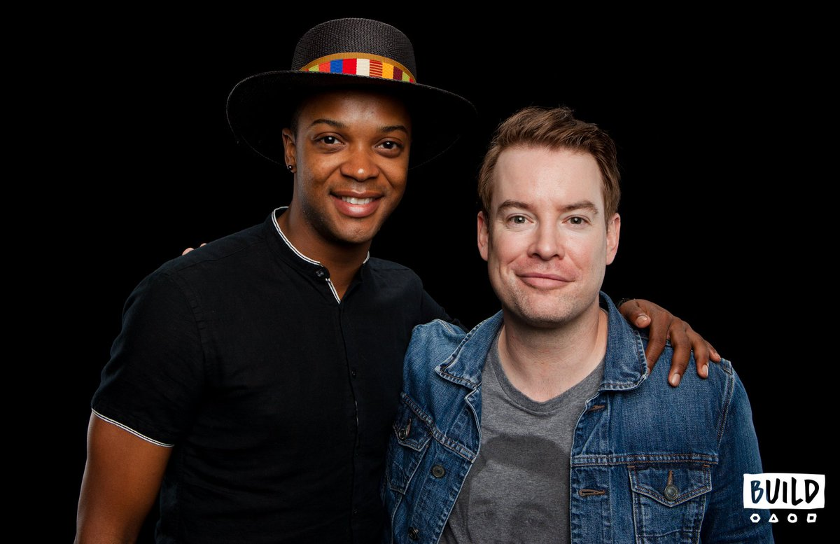 We had so much fun talking #KinkyBoots with @thedavidcook & ! 👠✨@jharrisonghee You can watch their full  vis#BUILDseriesit here: .https://t.co/fn8DmCXL2A