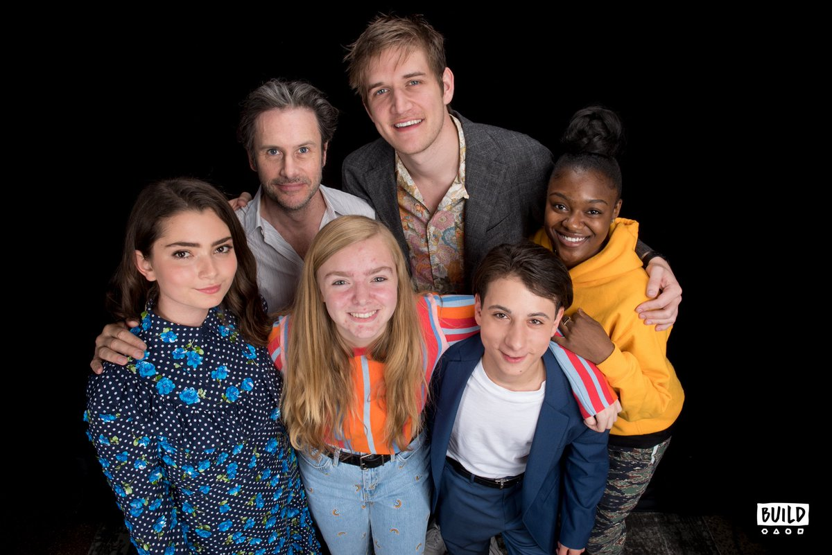 #ICYMI: @boburnham & the cast of  dro@eighthgrademovpped by  and#BUILDseries it was amazing: . 💖https://t.co/v8Ly4OaDaA