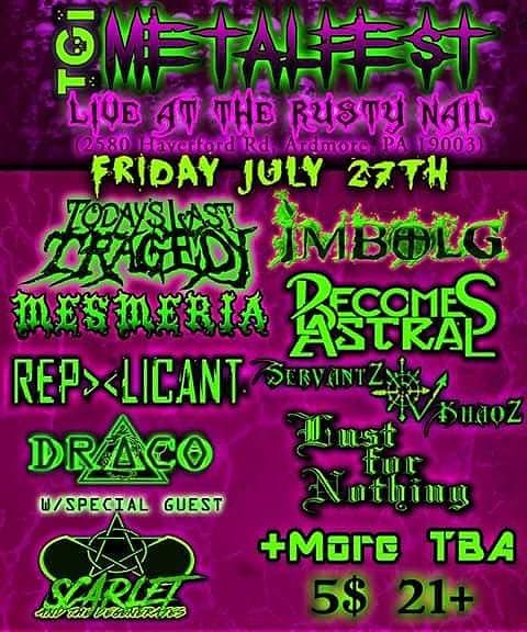 In 1 week see us #live in #Philadelphia facebook.com/events/4952622… #show #Rock #Goth #metal #Industrial #event #tour @RealJillyG @promusic_indie @BINGBING_CKTAIL @musicUwant2hear @marshallstackz @indiebychoice @5PercentProd @rockrageradioRR @phillydotcom @phillymusiconly RT