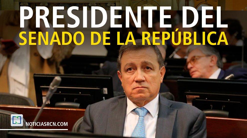 #Atención | El nuevo presidente de @SenadoGovCo es el senador Ernesto Macías  (@ernestomaciast), obtuvo 81 votos https://t.co/BXPS3y0hKi