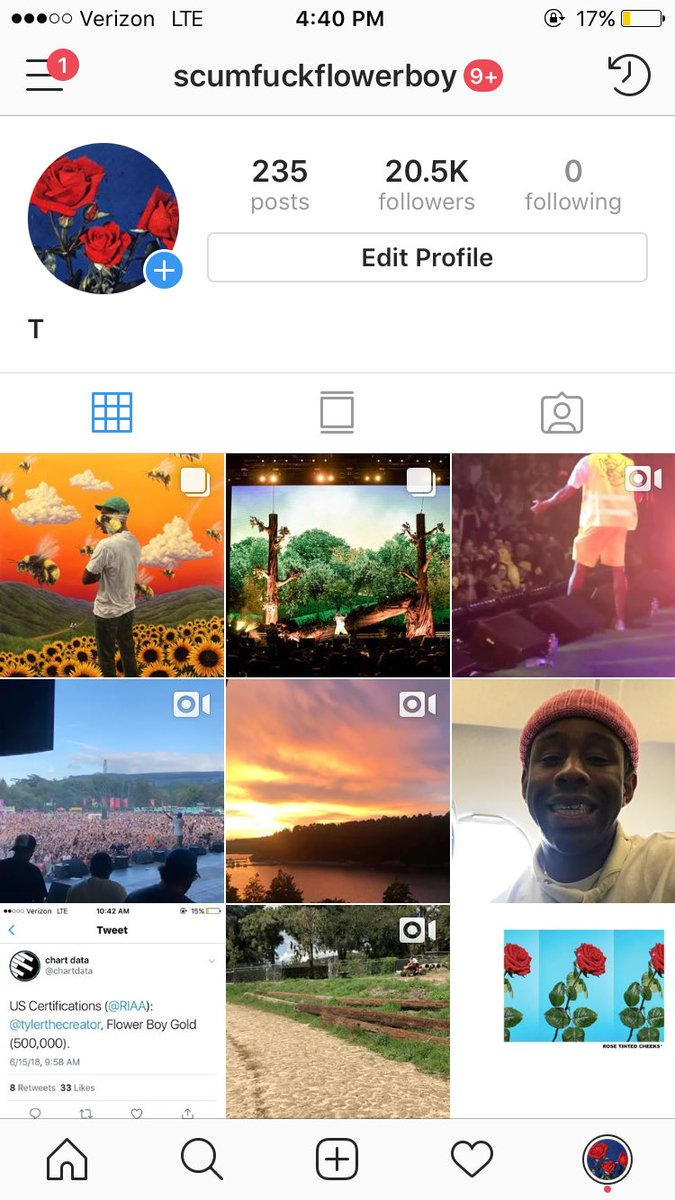 THIS INSTAGRAM HAS TWO YEARS OF MOMENTS FROM THE FLOWER BOY SESSIONS, I JUST MADE IT PUBLIC, ENJOY