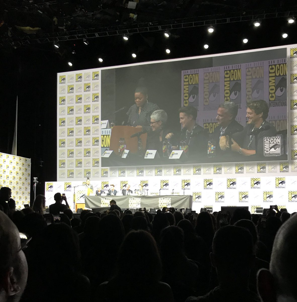 #SDCC2018 Thank You Hall H for a great reception for @halloweenmovie  today. Halloween fans are the greatest!