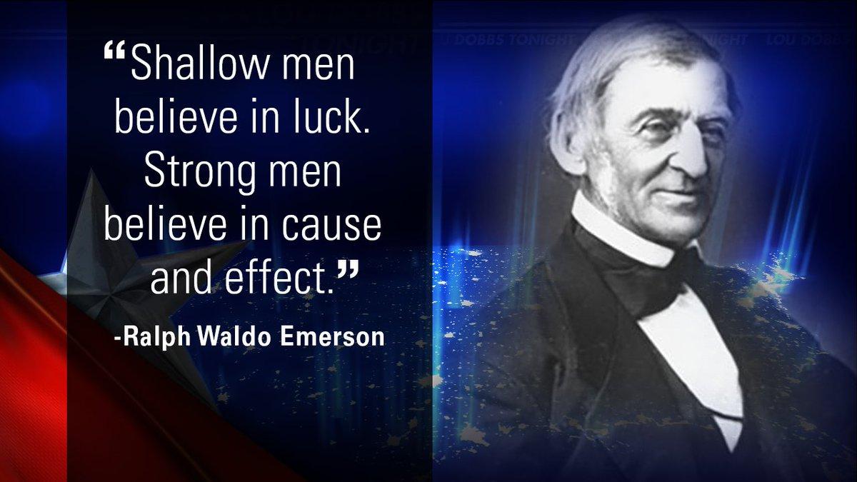 Tonight's #QuoteoftheDay is from Ralph Waldo Emerson. #MAGA #TrumpTrain #Dobbs #LouDobbsTonight