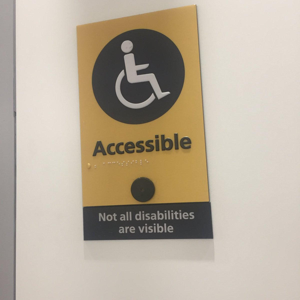 not all disabilities are visible - HD1200×1200
