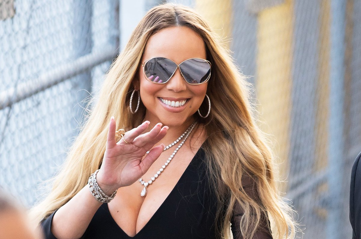 Mariah Carey is back in the recording studio https://t.co/A9QrDTP58y