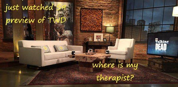 No Therapist=No @FTWD or @TWD and most definitely No @AMCTalkingDead . The truth shall prevail and alot of people will end up looking like idiots for not checking the facts! #IStandWithChrisHardwick #HardwicksArmy  @hardwick  @LydiaHearst @PatriciaHearst