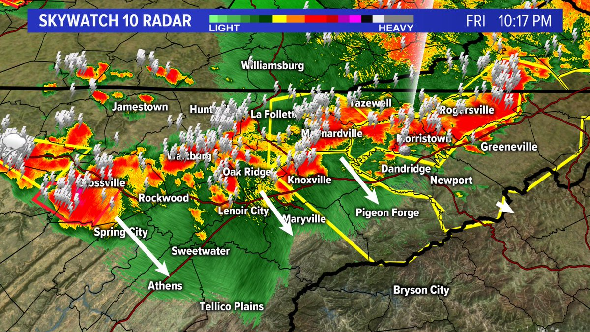 Wbir Weather On Twitter 10 20 Pm These Storms Are Widespread