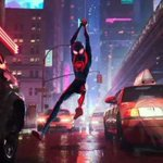 Into the Spider-Verse Twitter Photo