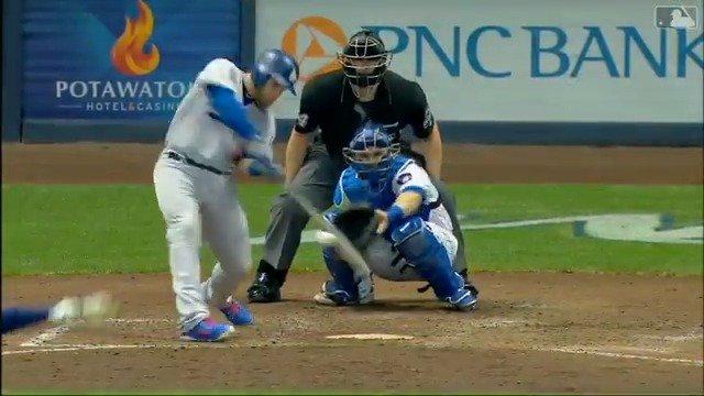 Bat is still hot. #Dodgers https://t.co/SCAwyRGccF