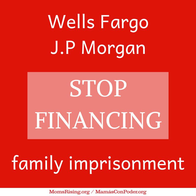 Dear @WellsFargo and @jpmorgan: Pull your financing for private prison corps  that profit from the pain and trauma of families being separated by Trump's #zerohumanity policy. Decency should win over profits. https://t.co/KEMJZmVzOr #FamiliesBelongTogether #BackersOfHate
