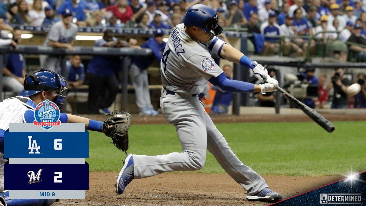 An insurance blast. #Dodgers https://t.co/yNxW0wbACF