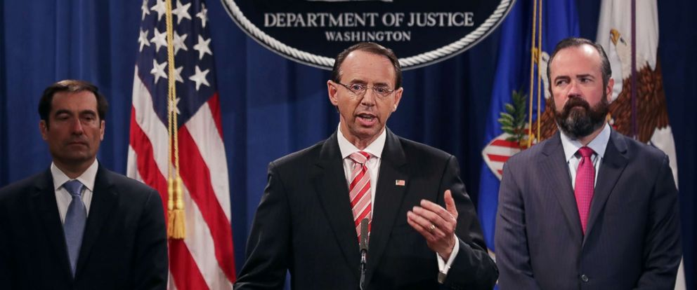 No role for politics in response to foreign threats: Rosenstein: https://t.co/lbsqGn6uiR
