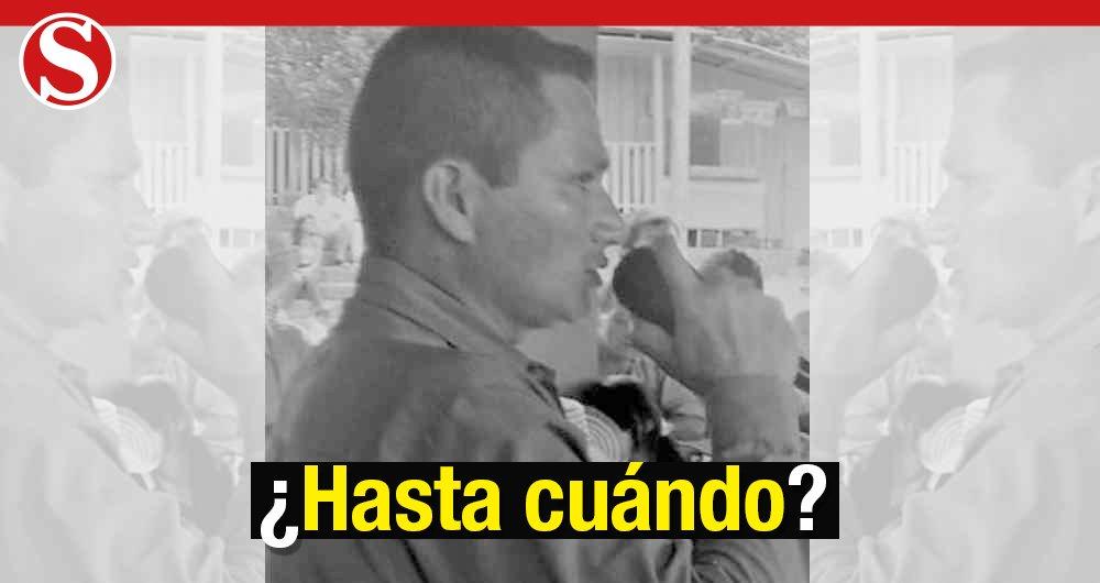 Horacio, otro líder social que asesinan en Colombia https://t.co/ZTWQ6b2m7o