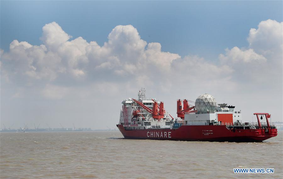 #DailyChinaBriefing on July 21 features: 1. Icebreaker sets sail on China's 9th Arctic expedition➡https://t.co/m2NXTk92C1 2. U.S. airline giant reopens non-stop flight to China➡https://t.co/Yzd6sOZJ2h 3. Int'l Sand Sculpture Festival opens in E China➡https://t.co/nAf8ywwqdI
