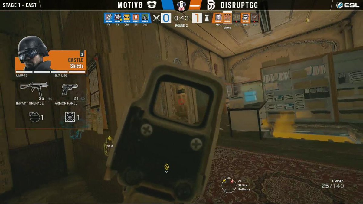 Image for the Tweet beginning: .@Skitttlz WIPED his opponents! #R6USN
