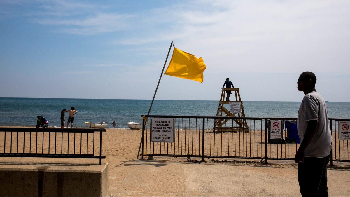 Following the drowning earlier this month of a 13-year-old girl just 30 minutes after lifeguards ended their shift at Loyola Beach, the Chicago Park District said it is adding signs and warning flags along the lakefront. https://t.co/vZc3cQLxmw