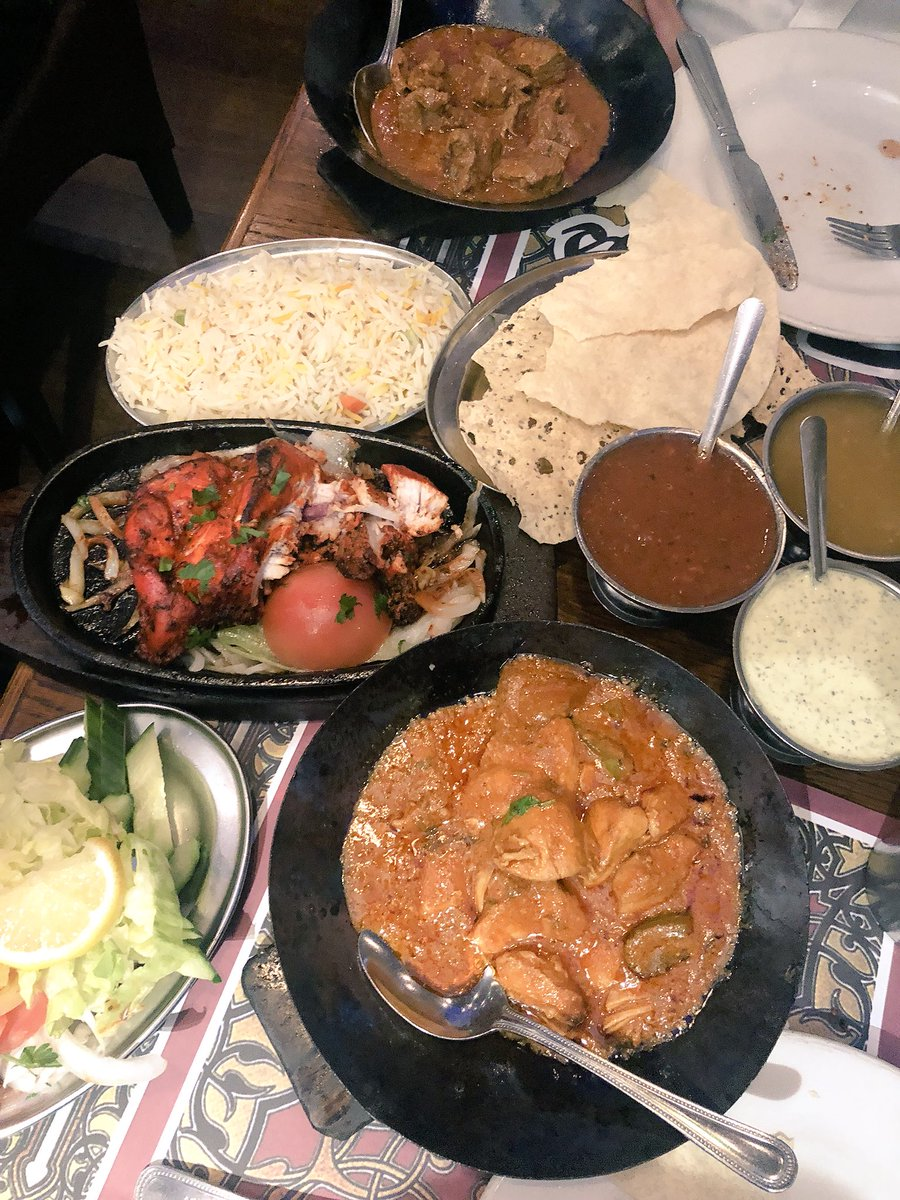 Indian food for #dinner at Tayyabs in #London after the bureau drinks. delicious! #foodie #travel