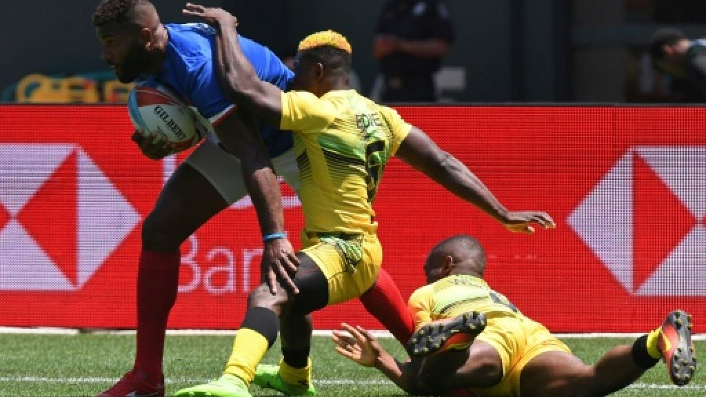 Fijian soldier shines for France at World Sevens https://t.co/vDJCWdx0eu