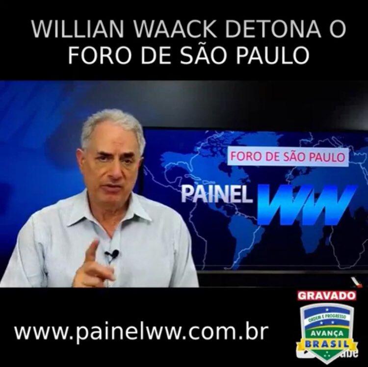Aos defensores de partidos e candidatos brasileiros que fazem parte do Foro de São Paulo... (incluindo PT, PSB, PDT, PCdoB, etc) https://t.co/EbA73WpjpN