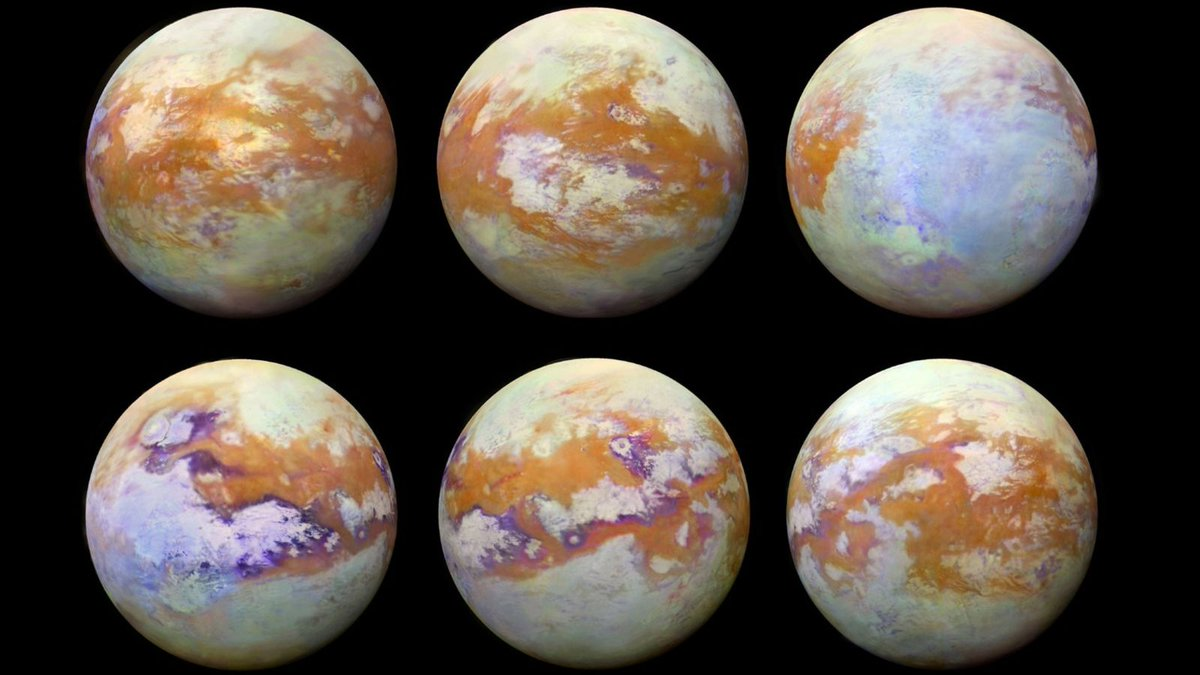 New images show Saturn's moon Titan in incredible detail https://t.co/wFb1XtNyg1