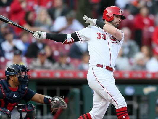 With hits in his first 3 at-bats, Jesse Winker has lifted his batting average to .301. During his current 11-game hitting streak, he&#39;s batting .514 (19-for-37) <br>http://pic.twitter.com/lIbemBcm63
