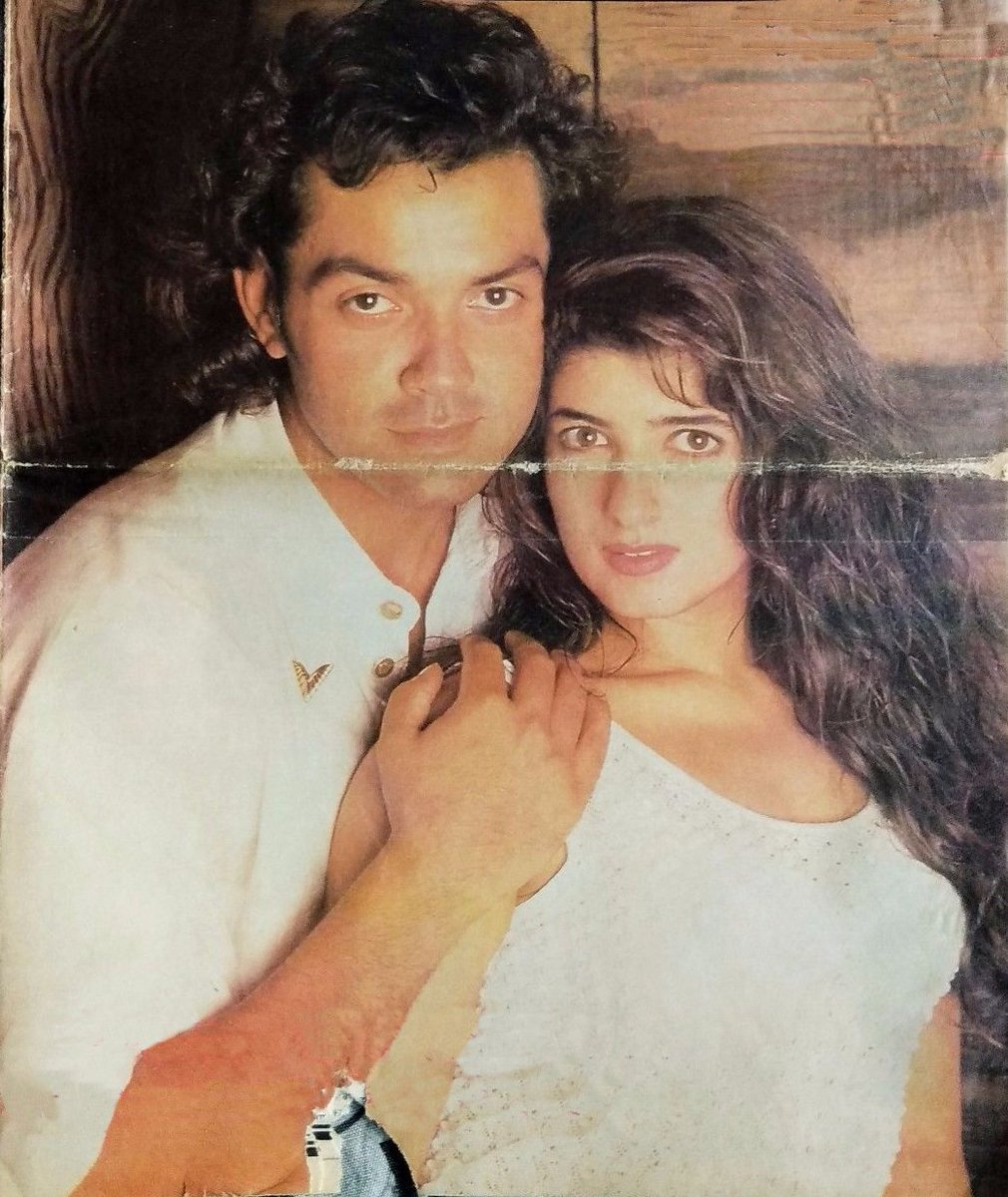Movies N Memories On Twitter Bobby Deol And Twinkle Khanna During