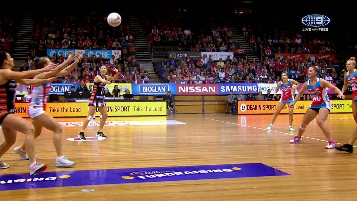 The Swifts are about to take on the Magpies! Who will win? #9Netball #9WWOS