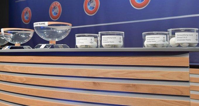 Información sobre el sorteo de la Q3 de la @EuropaLeague este lunes. Photo