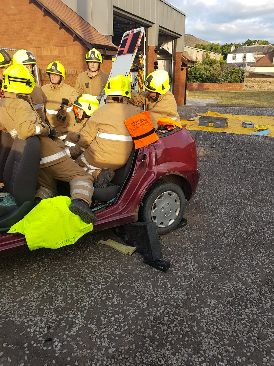 test Twitter Media - Once we have made space by removing the roof. Using a rescue board in a controlled manner, we can safely remove an injured person from a vehicle. https://t.co/yMVtjo4P3e