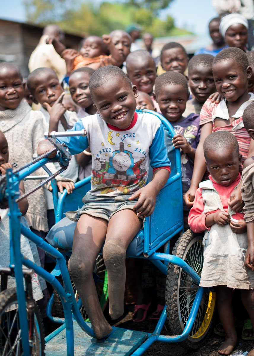 #ForEveryChild, the right to play.  📷 @UNICEFDRC  #ThisAbility #DisabilitySummit