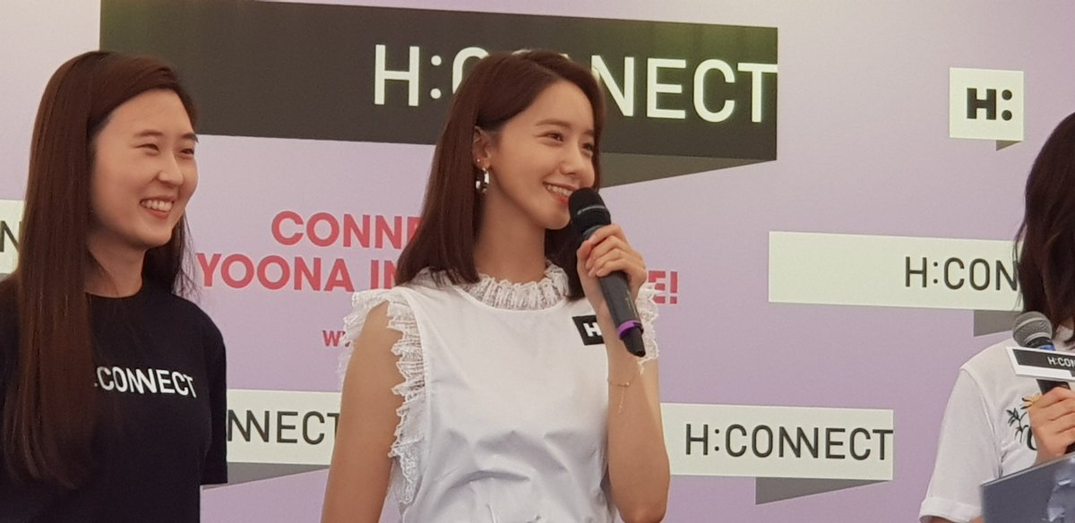 [#YoonAinSG] #Yoona says she stays refreshed in the hot summer due to her fans' love!