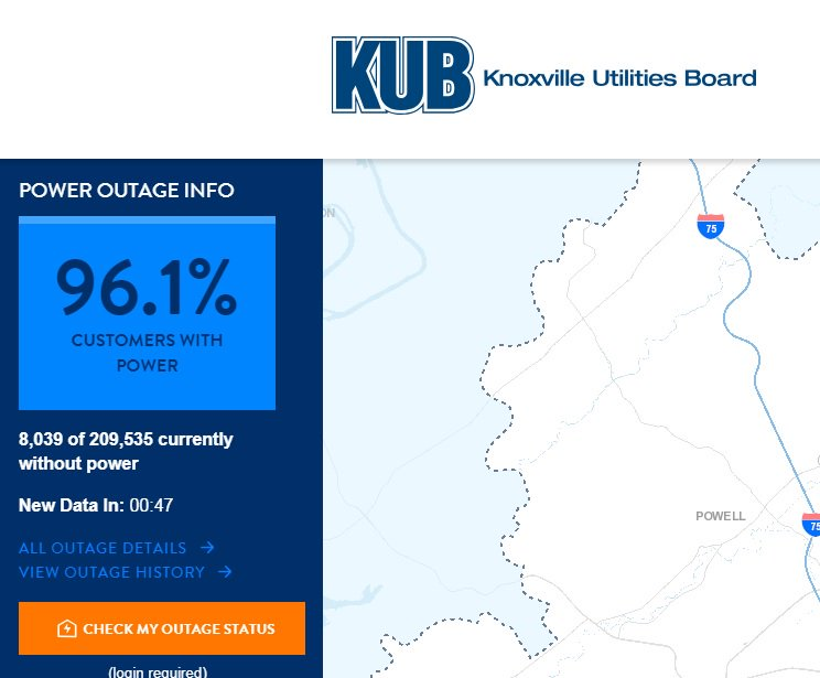 KUB Outage Map: Latest news, Breaking headlines and Top stories