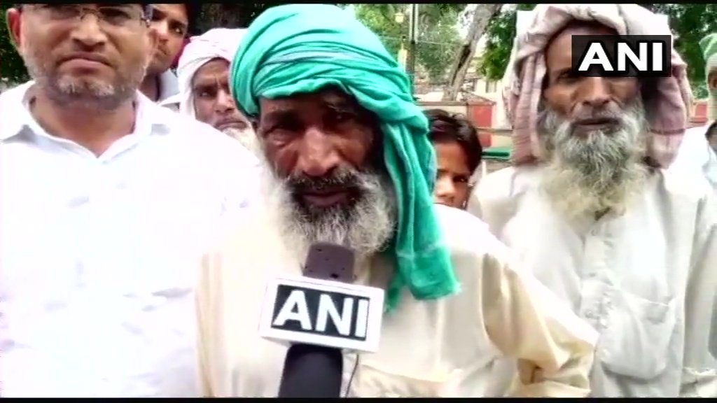 We want justice. The culprits should be arrested soon: Suleiman, Father of the man who was allegedly beaten to death by mob in Alwar's Ramgarh last night on suspicion of cow smuggling