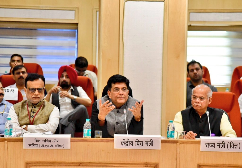 At the 28th Meeting of Goods & Services Tax Council, discussed how GST, as an embodiment of cooperative federalism, has brought transparency & honesty, and its implementation benefits 125 crore Indians as it has brought a reduction in prices of products & services.